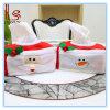 Nuevas Decoraciones de Navidad Caja de papel Caja de caja de tejido de Navidad