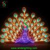 Buntes Weihnachtslicht des Peafowl-LED