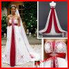 2013 vestidos de casamento bordados e perlados (estilo YP3066)