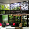 Laser Cut Decorative Aluminum Perforated Wall Panel für Facade