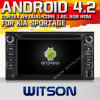 KIA Sportage (W2-A7517)를 위한 Witson Android 4.2 System Car DVD