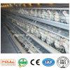 Cage de batterie de couche de poulet de 4 rangées pour la ferme avicole