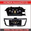 Reproductor de DVD especial de Car para Honda Accord (2013) con GPS, Bluetooth con el Internet de Dual Core 1080P V-20 Disc WiFi 3G del chipset A8 (CY-C262)