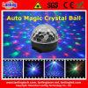 Luz mágica do disco do partido da família do diodo emissor de luz da esfera de cristal do RGB auto