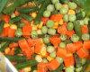 Vegetais misturados congelados IQF com alta qualidade