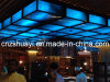 Blau Faux Alabaster für Singapur Decken Projekt