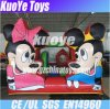 Mickey e Minnie infláveis Mouse Bouncer, Kids Jumping Trampoline, Play House Bouncy Castle
