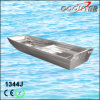 1.2mm Épaisseur J Type Small Aluminium Boat Flat Bottom (1344J)
