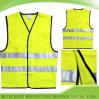 Yellow fluorescent Safety Vest avec 3m Reflective Strip (JY-VZ558)