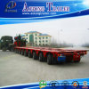Lowbed Hydraulic Special o Large Equipment Transportion Modular Truck Trailer da vendere