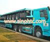 80 ton het nutsaanhangwagen van de Lading stortgoed & van de Container