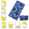 Fazzoletto da collo senza giunte su ordinazione della mascherina del Buff di stile stampato camuffamento blu promozionale