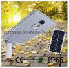 Уличный свет панели солнечных батарей интегрированный СИД для напольного