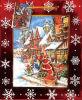 Scenario a mano regalo di Natale sacchetto di carta ( CS - 024 )