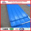SGCC a enduit la feuille d'une première couche de peinture en acier ondulée galvanisée de toit