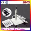 中国の歯科供給のグッタペルカはカッターを指す