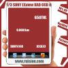 1/3 Sony Exview had de Module Sony4140+633 650tvl 0.0001lux 38X38X10mm van de Raad CCD