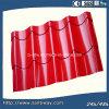 Azulejos de azotea de acero galvanizados prepintados rojos