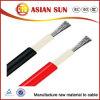 Cable solar 4mm2 y 6mm2 del grado del picovoltio de la aprobación del TUV