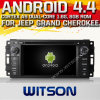 Witson Android 4.4 Car DVD voor Jeep Grand Cherokee met A9 ROM WiFi 3G Internet DVR Support van Chipset 1080P 8g