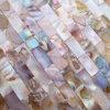 虹色の淡水の貝のモザイク・タイル、継ぎ目が無い煉瓦パターン(BFW-HCL-IR20)