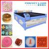 Preço de couro da máquina de gravura do laser do vestuário de matéria têxtil da tela (PEDK-130180)