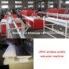 Ventana del PVC UPVC y máquina de la protuberancia de la puerta