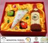 Neue Jahreszeit-Auslegung-Hochzeits-Kuchen-Geschenk-Tuch-Sets