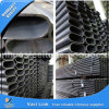 Edelstahl Oval Pipe für Construction (ASTM316)