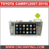 Toyota Camry (AD-7668)のためのA9 CPUを搭載するPure Android 4.4 Car DVD Playerのための車DVD Player Capacitive Touch Screen GPS Bluetooth