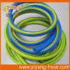 Шланг гибкого PVC легковеса голубой или желтый воды шланга сада
