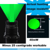 Unter null Zoomable Lang-Abstand 40mw Green Laser Designator/Sight (ES-LS-KS30)