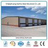 Edificio galvanizado diseño industrial del granero del metal de la estructura de acero del marco de la vertiente