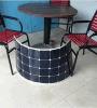 Comitato solare portatile caldo di vendita 100W 18V del comitato solare 2016 semi flessibili