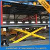 Conformité de la CE et levage de véhicule de garage de modèle de ciseaux
