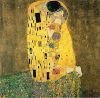 Ölgemälde - der Kuss durch Klimt