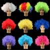 Perucas coloridas Curly Th020 do palhaço
