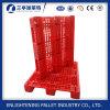 Resistente escolhir páletes plásticas enfrentadas do estilo para 1200 x 1000mm