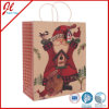 Kraftpapier Christmas Gift Bags mit Twisted Handle