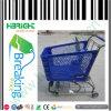 PlastikEinkaufswagen 150L mit Metallkorb für Supermarkt