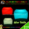 Festa di Natale Furniture LED Table con 16 Color Changing