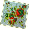 نمو نسيج قطنيّ مربّع وشاح حراريّة ([دإكس1029-4])