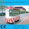 De kleine Vrachtwagen van de Lunch van de Straat van de Grootte met het Koken van Apparatuur voor Allerlei Voedsel