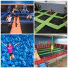 HandelsKids'fitness Trampoline, populäres Stadt-Spiel-Spiel-preiswerter Trampoline-Park mit Schaumgummi-Vertiefung