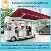 Carro móvil del alimento de la nueva exposición comercial del diseño 2017 con Ce y el SGS