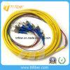 12 Couleur St / UPC monomode 12 Cores fibre optique en tire-bouchon