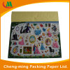 Caja de papel plegable al por mayor ondulado decorativo para bebé de juguete