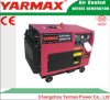 Yarmax 5kw 5000Wのディーゼル発電機の一定の交流発電機無声Genset