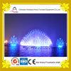 Fontana di musica dell'acqua di figura della coda del pavone in lago