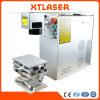 De draagbare Handbediende Mini20W 30W 50W Gouden en Zilveren Machine van de Gravure van de Laser